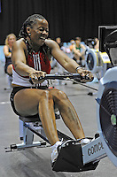 Birmingham, Great Britain,  Women's 40-44 Christine NANTON, Dunstable, competing at the 2008 British Indoor Rowing Championships, National Indoor Arena. on  Sunday 26.10.2008 . [Photo, Peter Spurrier/Intersport-images] .