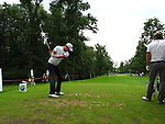 Chris Wood (ENG) tees off on the par3 15th tee during Day 2 of the BMW Italian Open at Royal Park I Roveri, Turin, Italy, 10th June 2011 (Photo Eoin Clarke/Golffile 2011)