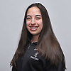 Tia Petrides of Garden City poses for a portrait during Newsday's 2017 All-Long Island girls fencing photo shoot at company headquarters on Monday, March 27, 2017.