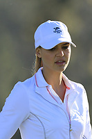 Kelly Rohrbach at the 1st green during Thursday's Round 1 of the 2018 AT&amp;T Pebble Beach Pro-Am, held over 3 courses Pebble Beach, Spyglass Hill and Monterey, California, USA. 8th February 2018.<br /> Picture: Eoin Clarke | Golffile<br /> <br /> <br /> All photos usage must carry mandatory copyright credit (&copy; Golffile | Eoin Clarke)