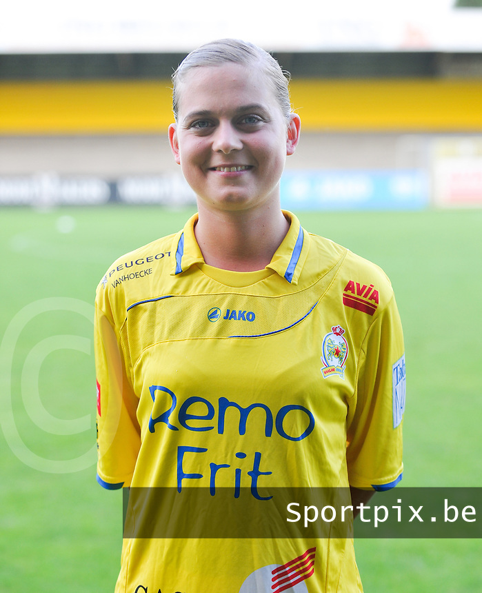 Waasland Beveren Sinaai Girls : Ellen De Wilde.foto Vrouwenteam.be / David Catry