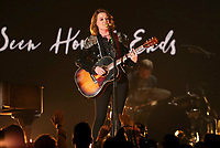 "Brandi Carlile performs ""The Joke"" at the 61st annual Grammy Awards on Sunday, Feb. 10, 2019, in Los Angeles. (Photo by Matt Sayles/Invision/AP)"