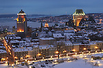 Quebec City im February
