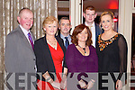 Pictured at the Lee Strand Social on Saturday night held In Ballygarry House Hotel and Spa were l-r: Gareth and Mary Savage Curraheen, Christy and Geraldine Counihan (Listellick) Gary Savage and Niamh Smith (Tralee).