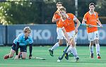 BLOEMENDAAL  -  Noah Krop, , competitiewedstrijd junioren  landelijk  Bloemendaal JA1-Nijmegen JA1 (2-2) . COPYRIGHT KOEN SUYK