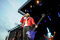 DERBY, ENGLAND - JUNE 8: Johnny Christ of 'Avenged Sevenfold' performing at Download Festival, Donington Park on June , 2018 in Derby<br /> CAP/MAR<br /> &copy;MAR/Capital Pictures