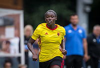 Rinsola Babajide of Watford Ladies during the pre season friendly match between Stevenage Ladies FC and Watford Ladies at The County Ground, Letchworth Garden City, England on 16 July 2017. Photo by Andy Rowland / PRiME Media Images.