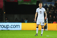 Ben Wilmot of Swansea City during the Sky Bet Championship match between Swansea City and Charlton Athletic at the Liberty Stadium in Swansea, Wales, UK.  Thursday 02 January 2020