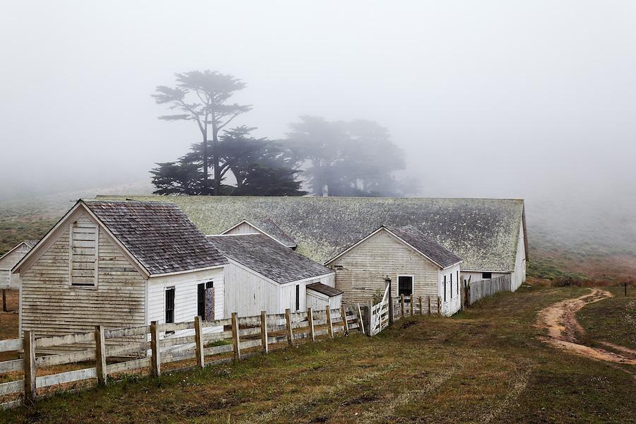 Historic Pierce Point Ranch, Point Reyes National Seashore, California, USA