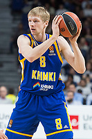 Khimki Moscow Vyacheslav Zaytsev during Turkish Airlines Euroleague match between Real Madrid and Khimki Moscow at Wizink Center in Madrid, Spain. November 02, 2017. (ALTERPHOTOS/Borja B.Hojas) /NortePhoto.com