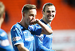 Dundee United v St Johnstone....21.11.15  SPFL,  Tannadice, Dundee<br /> All smiles from Dave Mackay at full time<br /> Picture by Graeme Hart.<br /> Copyright Perthshire Picture Agency<br /> Tel: 01738 623350  Mobile: 07990 594431