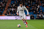 Real Madrid's Dani Ceballos during Copa del Rey match between Real Madrid and Girona FC at Santiago Bernabeu Stadium in Madrid, Spain. January 24, 2019. (ALTERPHOTOS/A. Perez Meca)