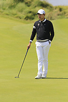 Jeunghun Wang (KOR) on the 6th green during Thursday's Round 1 of the Dubai Duty Free Irish Open 2019, held at Lahinch Golf Club, Lahinch, Ireland. 4th July 2019.<br /> Picture: Eoin Clarke | Golffile<br /> <br /> <br /> All photos usage must carry mandatory copyright credit (© Golffile | Eoin Clarke)