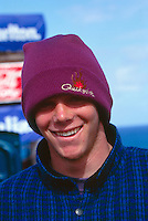 Shaun Brooks (AUS)  at his home break of Bells Beach during a Billabong Pro Jr. circa 1992.Photo:joliphotos.com