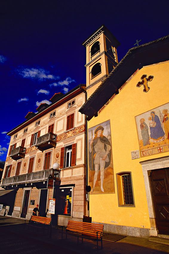 Chiesa S. Rocco, Bellinzona, Ticino, Switzerland