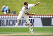 4th December 2017, Basin Reserve, Wellington, New Zealand; International Test Cricket, Day 4, New Zealand versus West Indies;  Colin de Grandhomme bowling