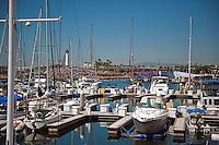 Sailboats, Red Bull, Flugtag, Rainbow Harbor, Long Beach, CA