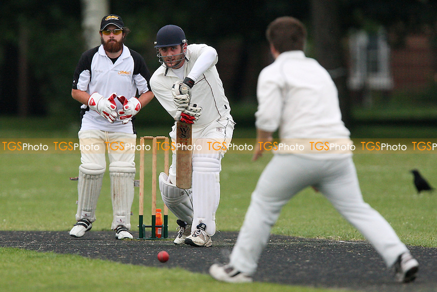 Rose & Crown CC vs Old Ranwellians CC - Victoria Park Community Cricket League - 09/06/09 - MANDATORY CREDIT: Gavin Ellis/TGSPHOTO - Self billing applies where appropriate - 0845 094 6026 - contact@tgsphoto.co.uk - NO UNPAID USE.