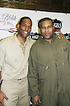 Guiding Light's Lawrence Saint-Victor, author Layon Gray star in Black Angels Over Tuskegee on January 24, 2011 at the Actors Temple Theatre, New York City, New York. (Photo by Sue Coflin/Max Photos)