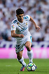 Marco Asensio Willemsen of Real Madrid in action during the La Liga 2017-18 match between Real Madrid and SD Eibar at Estadio Santiago Bernabeu on 22 October 2017 in Madrid, Spain. Photo by Diego Gonzalez / Power Sport Images