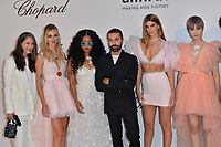 ANTIBES, FRANCE. May 23, 2019: Ann-Sofie Johansson, Chiara Ferragni, H.E.R., Giambattista Valli, Bianca Brandolini & Chris Lee at amfAR's Gala Cannes event at the Hotel du Cap d'Antibes.<br /> Picture: Paul Smith / Featureflash