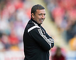 St Johnstone v Aberdeen...23.08.14  SPFL<br /> Derek McInnes looks on<br /> Picture by Graeme Hart.<br /> Copyright Perthshire Picture Agency<br /> Tel: 01738 623350  Mobile: 07990 594431