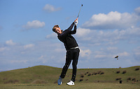 Harry Lines during Round Two of the West of England Championship 2016, at Royal North Devon Golf Club, Westward Ho!, Devon  23/04/2016. Picture: Golffile | David Lloyd<br /> <br /> All photos usage must carry mandatory copyright credit (&copy; Golffile | David Lloyd)