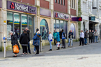 Pictured: A general view of Natwest in Swansea City Centre during the Covid-19 Coronavirus pandemic in Wales, UK, Swansea, Wales, UK. Monday 23 March 2020