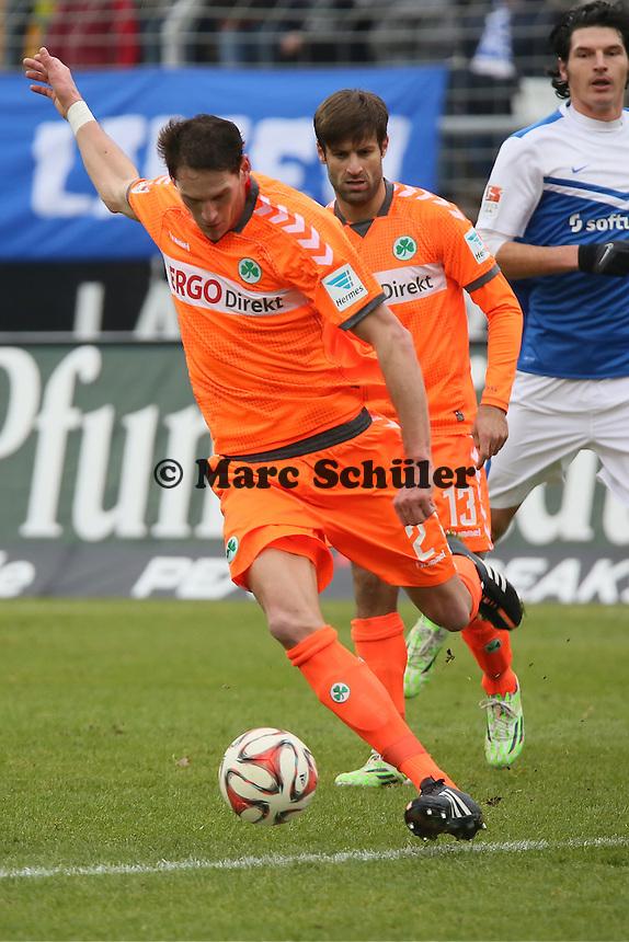 Benedikt Röcker (Fuerth) - SV Darmstadt 98 vs. SpVgg. Greuther Fuerth, Stadion am Boellenfalltor