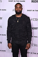 """WEST HOLLYWOOD - FEBRUARY 15: Tyron Woodley arrives for the LA screening of Fox Sports """"Shot in the Dark"""" at the Pacific Design Center on February 15, 2018 in West Hollywood, California.(Photo by Frank Micelotta/Fox/PictureGroup)"""