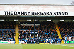 Stockport attack in front of The Danny Bergara Stand. Stockport County v Barnet, 07032020. Edgeley Park, National League. Photo by Paul Thompson.