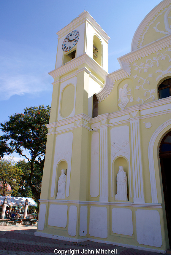 Iglesia de San Marcos church  the Spanish colonial town of Gracias, Lempira, Honduras..