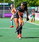AMSTELVEEN  -  Yasmin Geerlings (A'dam) .  Hoofdklasse hockey dames ,competitie, dames, Amsterdam-Groningen (9-0) .     COPYRIGHT KOEN SUYK