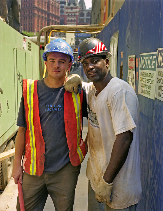 Construction workers, Manhattan NYC.
