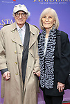 Sheldon Harnick, Margery Gray  attends Broadway Opening Night performance of 'Anastasia' at the Broadhurst Theatre on April 24, 2017 in New York City.