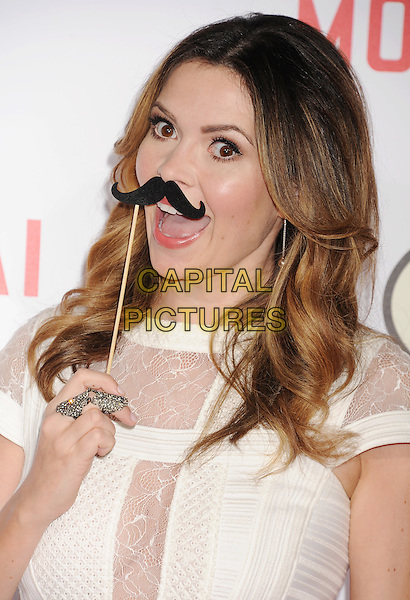 HOLLYWOOD, CA - JANUARY 21: TV personality Carly Steel arrives at The Los Angeles Premiere Of 'Mortdecai' at TCL Chinese Theatre on January 21, 2015 in Hollywood, California.<br /> CAP/ROT/TM<br /> &copy;TM/Roth Stock/Capital Pictures
