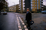 DOCTOR WIDGERY EAST END LONDON GP, GOING TO WORK, 1989