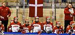 07.01.2020, BLZ Arena, Füssen / Fuessen, GER, IIHF Ice Hockey U18 Women's World Championship DIV I Group A, <br /> Italien (ITA) vs Daenemark (DEN), <br /> im Bild bange Blicke auf der daenischen Spielerbank<br /> <br /> Foto © nordphoto / Hafner