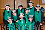 Actors from the  Wizard of Oz musical by the children of Currow NS musical which was held in the KDYS Killorglin on Sunday front row l-r: Eoin Brosnan, Michael Daly, Charlie Brosnan, Shane O'Rourke, Dean O'Donoghue. Back row: Sean Scanlon, Joey Kelly, Sean O'Sullivan and Padriag O'Connor