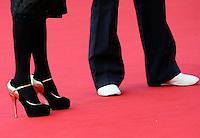 L'attrice e regista Asia Argento ed il marito Michele Civetta percorrono il red carpet al Festival Internazionale del Film di Roma, 19 ottobre 2009..Italian actress and director Asia Argento and her husband Michele Civetta walk on the red carpet at Rome Film Festival, in Rome, 19 october 2009..UPDATE IMAGES PRESS/Riccardo De Luca