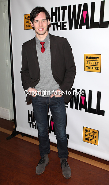 "Cory Michael Smith attending the New York Premiere of the Opening Night Performance of ""Hit The Wall"" at the Barrow Street Theatre in New York City on 3/10/2013...Credit: McBride/face to face"