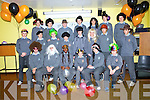 MADHATTERS; The Students from thye CBS The Green helsd a Mad Hatter day to raise funds for Mak a Wish foundation on Friday atr their school. Front l-r: Jack Kirwin,Shane Walsh,Methembe Mufu, Cathal Hanafin, Grey Pituch and Luke Clapman, Centre l-r: Shane Flavin, Brian McLaughlin,Michael O'Donovanb, Alan Counihan, Sam Nealan, Ronan Kinsella, Max Goreansky, James Kelly. Back l-r: Dan Barrett, Ryan Dowling, Brian Kerins, Brud Duffy, Jurger Musallias, Jack O'Donnell and Scott O'Leary...