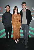 "Viveik Kaira, Dakota Blue Richards and Tom Bateman at the ""Beecham House"" BFI & Radio Times Television Festival screening & Q&A, BFI Southbank, Belvedere Road, London, England, UK, on Saturday 13th April 2019. <br /> CAP/CAN<br /> ©CAN/Capital Pictures"