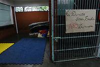 SÃO PAULO,SP, 24.11.2015 - PROTESTO-ESTUDANTES - Alunos ocupam a Escola Estadual Comendador Miguel Maluhy, no bairro do Campo Limpo, zona sul da cidade de São Paulo nesta terça-feira, (24). (Foto: Douglas Pingituro/Brazil Photo Press)