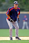 9 September 2006: Brandon Harper, catcher for the Washington Nationals, warms up prior to a game against the Colorado Rockies. The Rockies defeated the Nationals 9-5 at Coors Field in Denver, Colorado.&#xA;&#xA;Mandatory Photo Credit: Ed Wolfstein.<br />