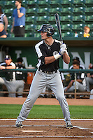 Sam Hilliard (25) of the Grand Junction Rockies at bat against the Ogden Raptors in Pioneer League action at Lindquist Field on September 3, 2015 in Ogden, Utah. Grand Junction defeated Ogden 16-8.  (Stephen Smith/Four Seam Images)