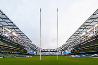 A general view of the Aviva Stadium. Heineken Champions Cup match, between Leinster Rugby and Bath Rugby on December 15, 2018 at the Aviva Stadium in Dublin, Republic of Ireland. Photo by: Patrick Khachfe / Onside Images