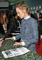 Saoirse Ronan at the 61st BFI LFF &quot;On Chesil Beach&quot; Love gala, Embankment Garden Cinema, Villiers Street, London, England, UK, on Sunday 08 October 2017.<br /> CAP/CAN<br /> &copy;CAN/Capital Pictures