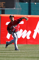April 14, 2010:  Outfielder Daniel Nava of the Pawtucket Red Sox in the field during a game at Coca-Cola Field in Buffalo, New York.  Pawtucket is the Triple-A International League affiliate of the Boston Red Sox.  Photo By Mike Janes/Four Seam Images