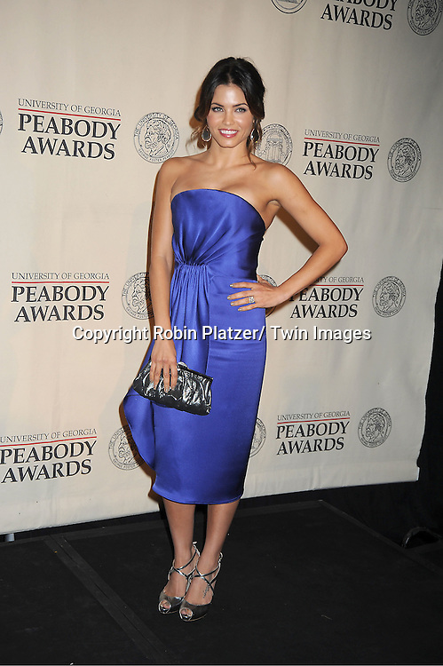 """Jenna Dewan Tatum winners for """"Earth Made of Glass"""" attends the 71st Annual Peabody Awards at the Waldorf Astoria Hotel in New York City on May 21, 2012."""
